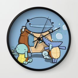 Pokémon - Number 7, 8 & 9 Wall Clock