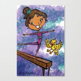 Jump for Gymnastics! Canvas Print