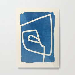 abstract minimal 57 Metal Print