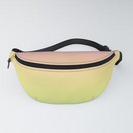 Pastel Colorful Pattern Abstract Rainbow Multi Colored Texture Fanny Pack