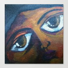 Seeing eyes Canvas Print