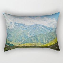 Mountains of Kashmir Rectangular Pillow