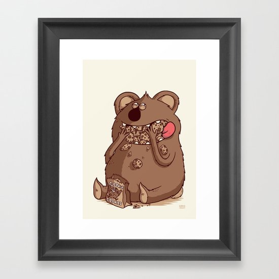 Self Restraint Framed Art Print