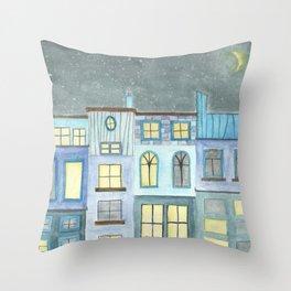 Starry Shoppes Throw Pillow