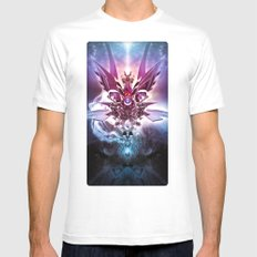 Archangel White MEDIUM Mens Fitted Tee