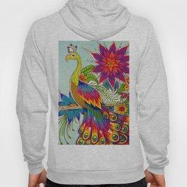 Rainbow Peacock Hoody