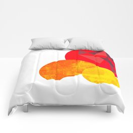 Incompletely Complete Comforters