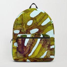 Prepared Monstera Backpack