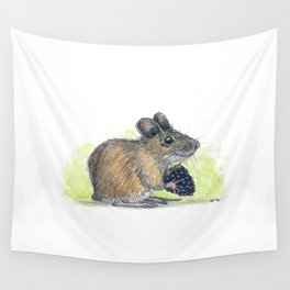 Field Mouse  Wall Tapestry