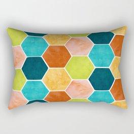 Modern Moroccan Pattern Rectangular Pillow