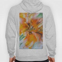 Orange Lily Hoody