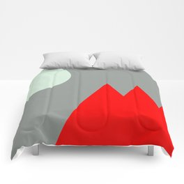 Red Mountains and Moon Comforters