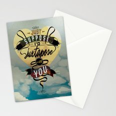 Juxtapozed with you Stationery Cards