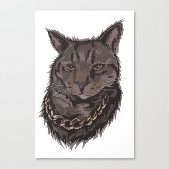 Smokey the Cat Canvas Print