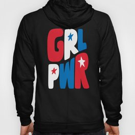 GRL PWR Red, White and Blue Hoody