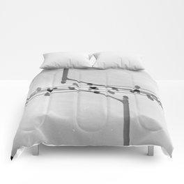Landscapes (35mm Double Exposure) Comforters
