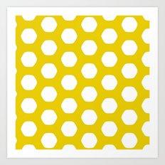 Paulsen Yellow Art Print