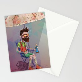 It's too hot to be cool Stationery Cards