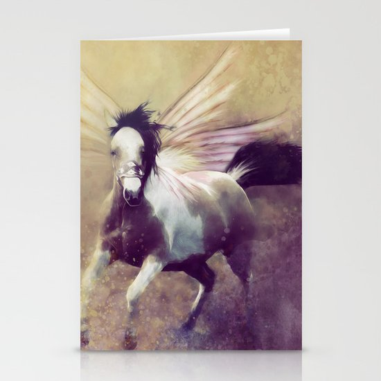 RIDING THE STORM OUT Stationery Cards