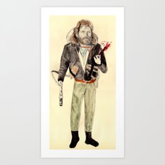 R.J. MacReady | The Thing Art Print