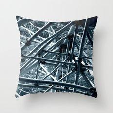ferris wheel 03 Throw Pillow