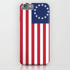 Betsy Ross USA flag - High Quality Image  iPhone 6 Slim Case