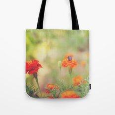 Summer Bee Tote Bag