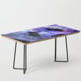 Galaxy Panda Space Colorful Coffee Table