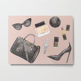 My Style Essentials n.2 Metal Print