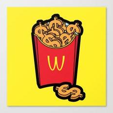 Pop Icon - Warhol Canvas Print