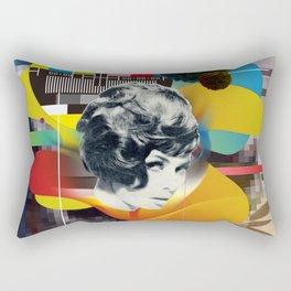 Television Art Rectangular Pillow