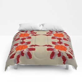 Pomegranate leaves Comforters