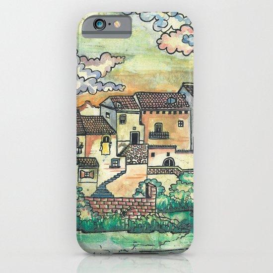 """A Spanish village"" iPhone & iPod Case"