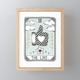 The Like Framed Mini Art Print
