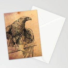 Falcon illustration Stationery Cards