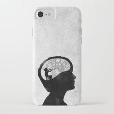 Musarañas (black and white) iPhone 7 Slim Case