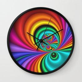 fractals are beautiful -20- Wall Clock