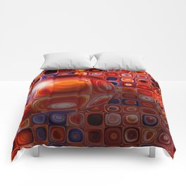 Tiles and Bubble-ations Comforters