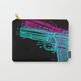 Gun Diagram Carry-All Pouch