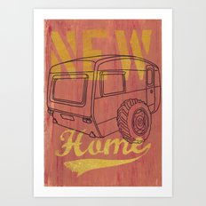 Nice new Home Art Print