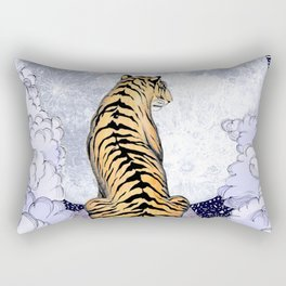Tiger Moon | Colour Version Rectangular Pillow