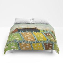 wooly fields Comforters