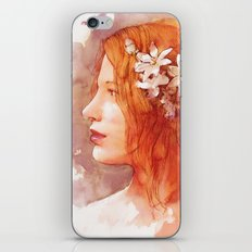 Flower scent iPhone & iPod Skin