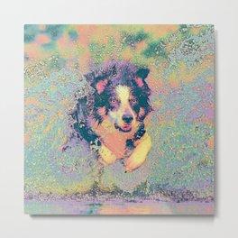 Pastel_Dog_001_by_JAMColors Metal Print