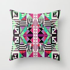 Crazy Eights Throw Pillow
