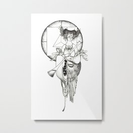 Major Arcana XIV Temperance Metal Print