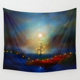 A beautiful Christmas Wall Tapestry