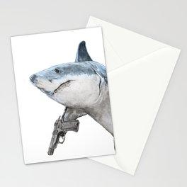 Peligro: Tiburones Stationery Cards