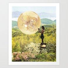 Golden Pockets Art Print