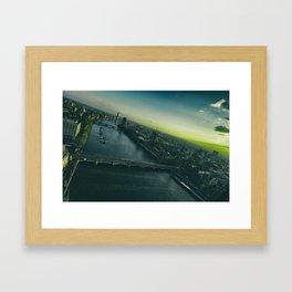 Sunset, in London Framed Art Print